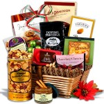 christmas gift basket :: gourmet gift baskets {giveaway}