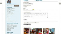 August Kuhnell Birthday Page