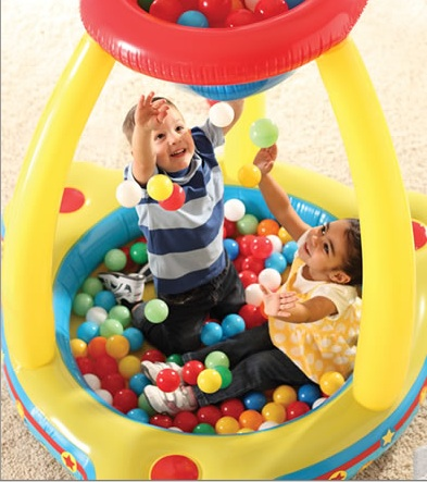 step2 catch & play ball pit