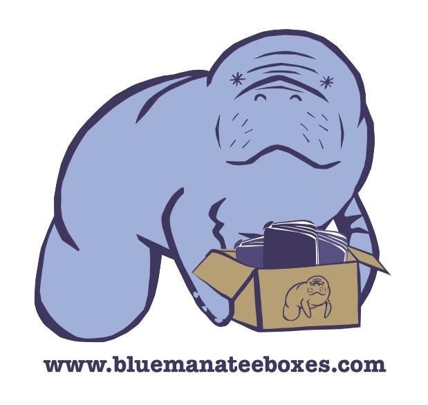 Blue Manatee Boxes