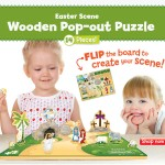 wee believers :: Easter scene pop-out puzzle
