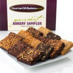 show mom some love with gourmet gift baskets :: brownies sampler gift {giveaway}