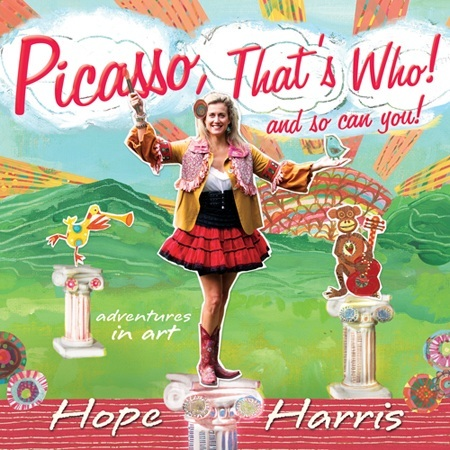 Hope Harris Picasso, That's Who CD Cover Art