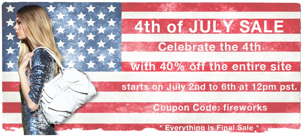 melie bianco 4th of july sale pic