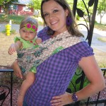 hot slings :: adjustable pouch carrier {giveaway}