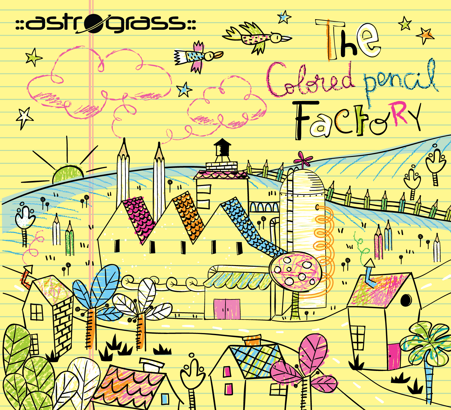 Astrograss The Colored Pencil Factory Cover Art 72 dpi