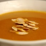 a simple {real food} recipe :: pumpkin soup {dairy free option}