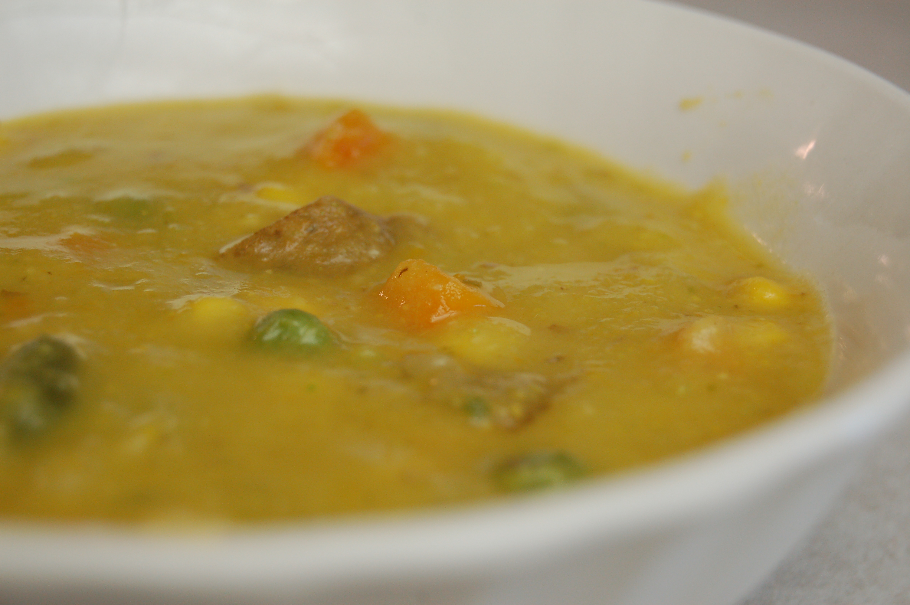 a simple {real food} recipe :: cream of veggie soup {dairy free}