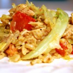 a simple real food recipe :: deconstructed cabbage rolls