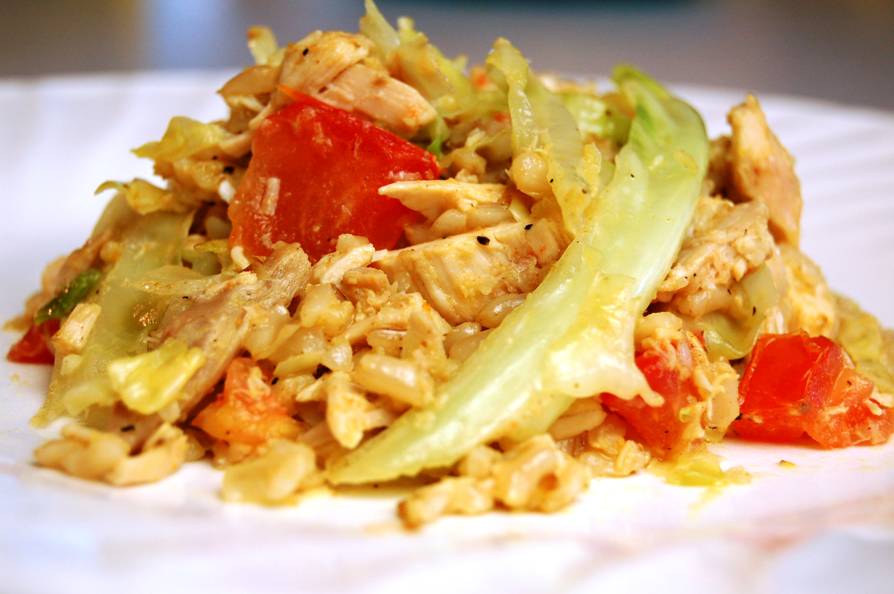a simple {real food} recipe :: {deconstructed} cabbage rolls