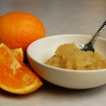 a simple DIY :: orange sugar scrub