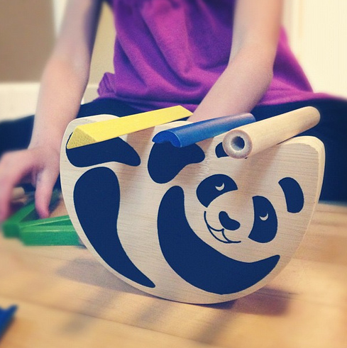 Pandabo by Hape. Best kids game ever.