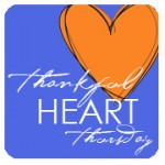 thankful heart thursday :: it's good to know we're heard #tht :: link up and giveaway