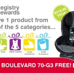 britax registry rewards promotion has been extended :: giveaway