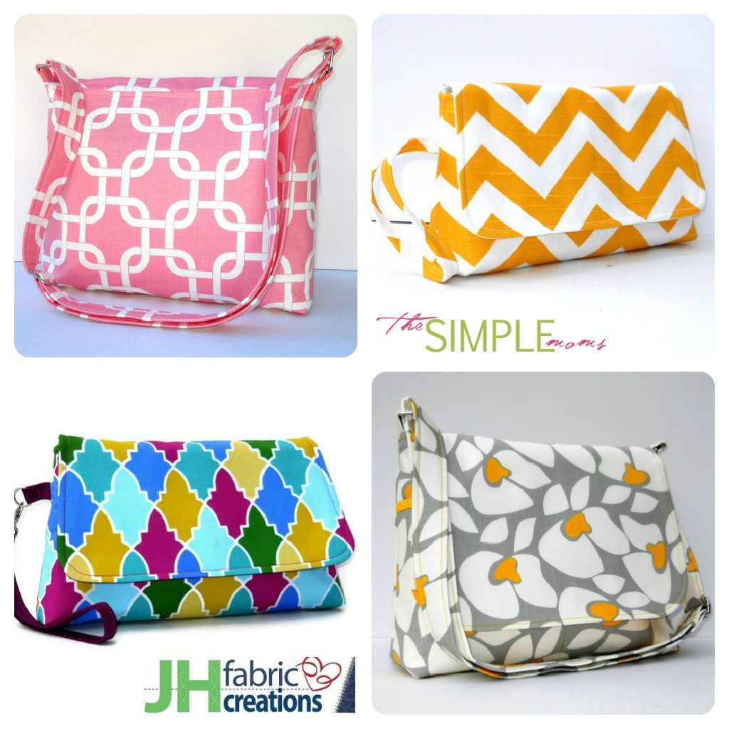 JH Fabric Creations Collage on The SIMPLE Moms