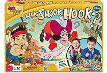 Jake and the Never Land Pirates - Who Shook Hook game box
