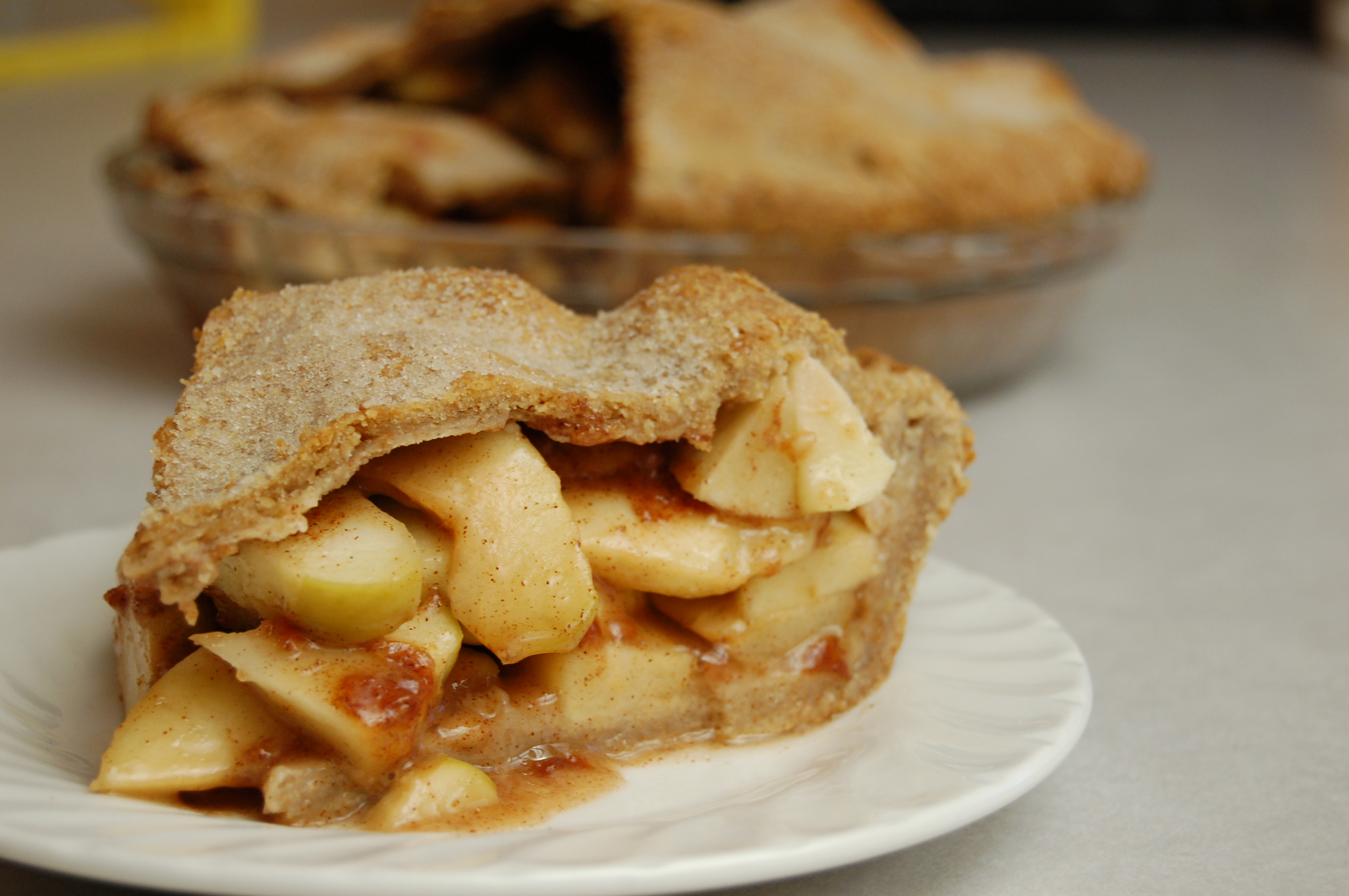 a simple real food recipe :: apple pie :: grain, gluten, and dairy free options