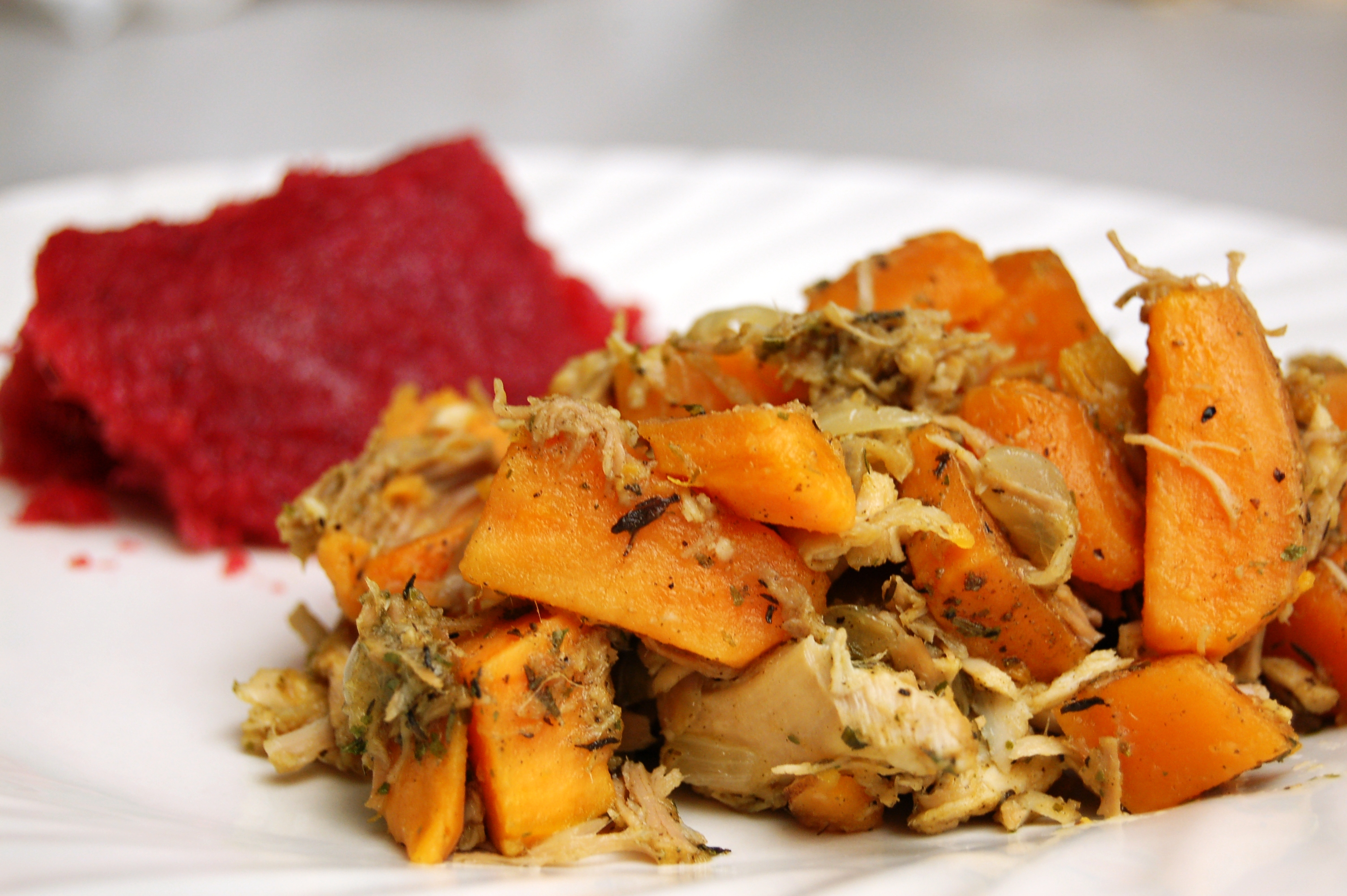 a simple real food recipe :: sweet potato thanksgiving hash