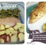 chicken, beans, and potatoes recipe :: only one dish to wash
