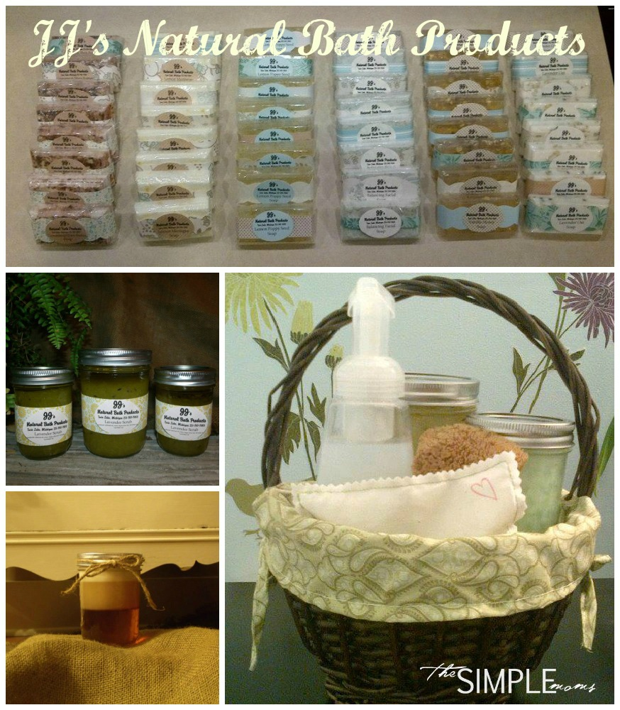 give jj's natural bath products for christmas this year :: review, coupon, and giveaway