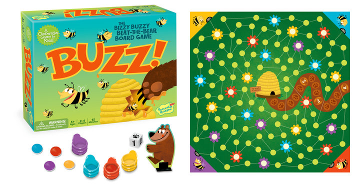 Buzz! Cooperative Board Game