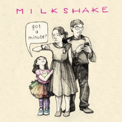 Got a Minute by Milkshake - cover art - on the Simple Moms blog