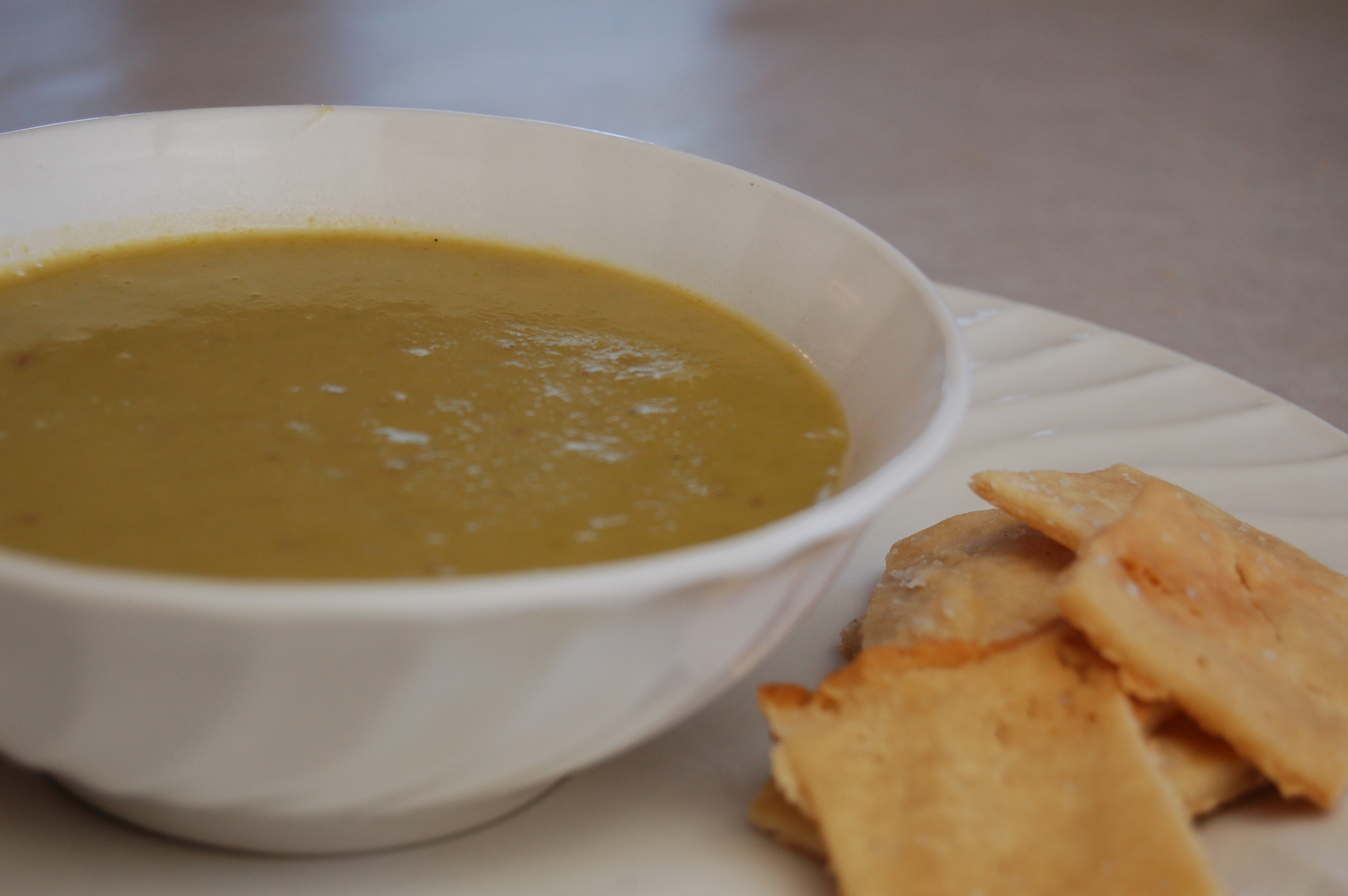 a simple real food recipe :: nourishing tradition's asparagus soup :: asparagus season week!