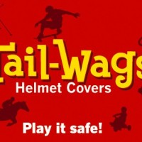 Tail-Wags Helmet Covers Logo on the Simple Moms blog