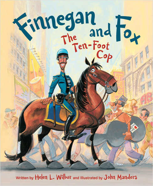 Finnegan and Fox The Ten-Foot Cop cover