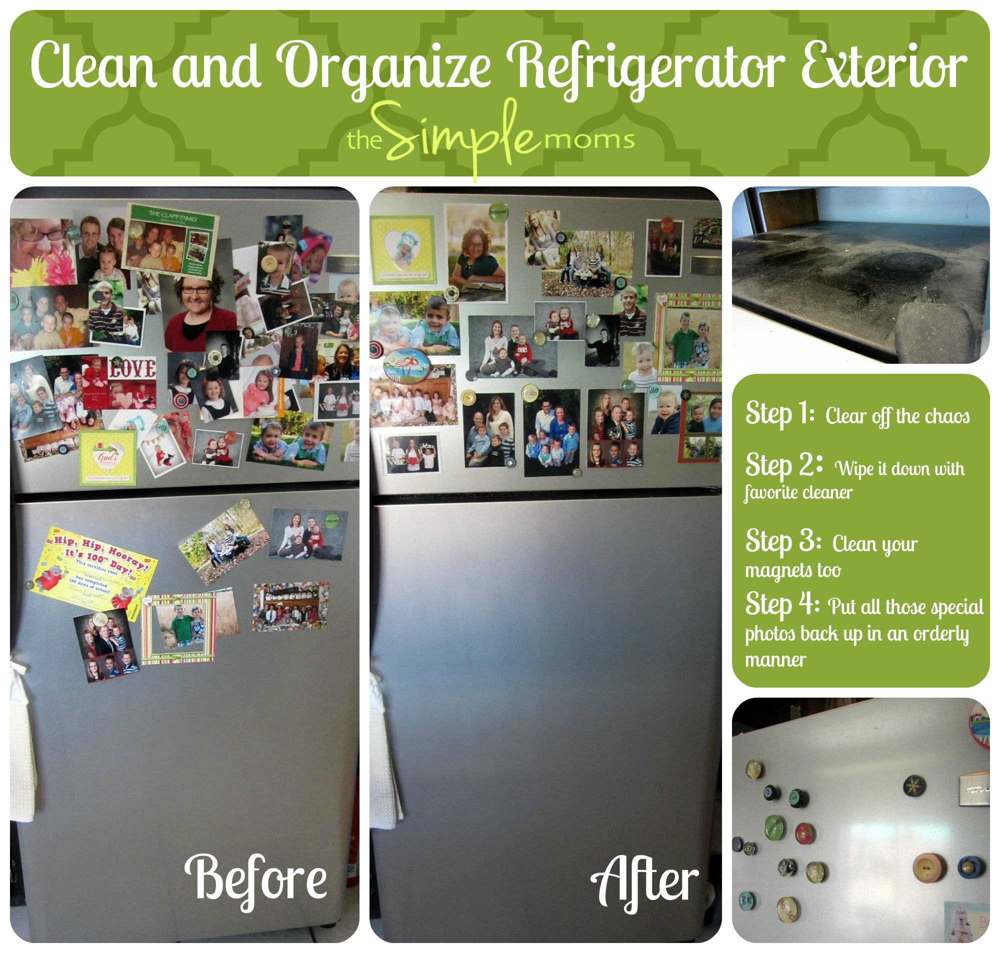 organize and clean your refrigerator