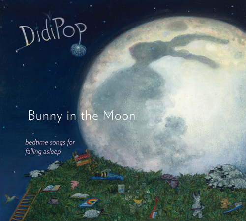 DidiPop Bunny in the Moon album cover