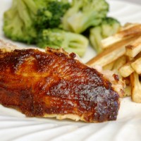 a simple real food recipe :: slow baked barbeque chicken