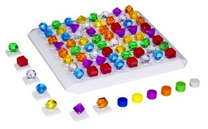 hasbro bejeweled game close up