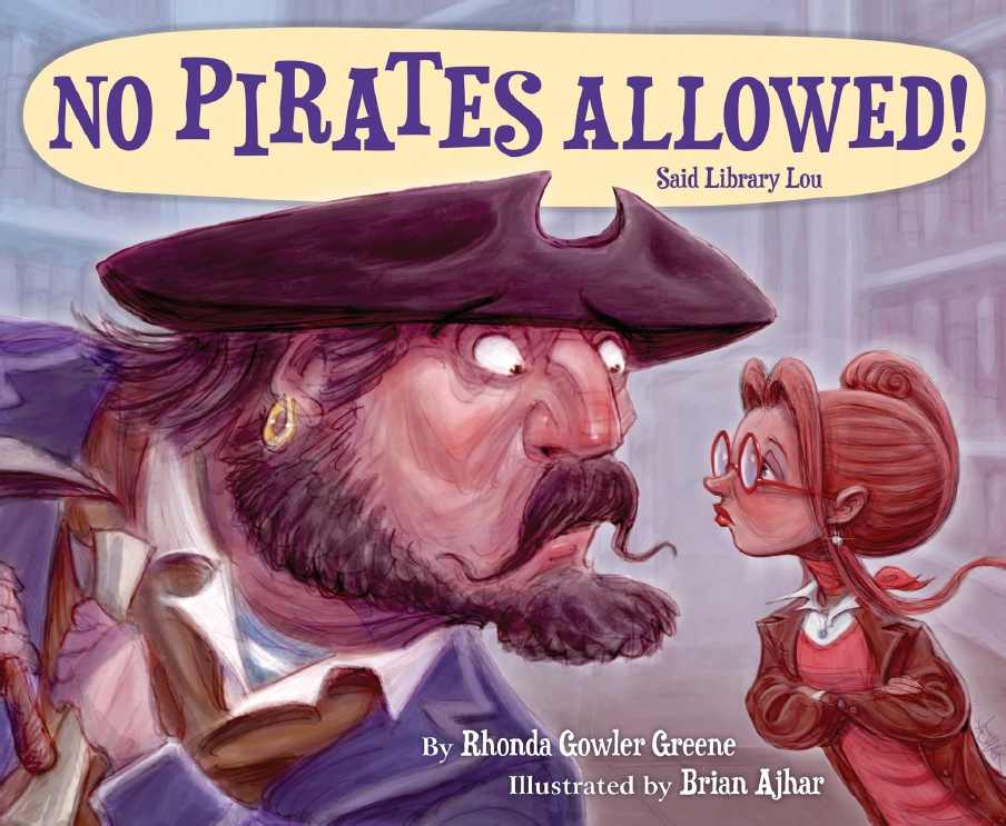 No Pirates Allowed! Said Library Lou cover