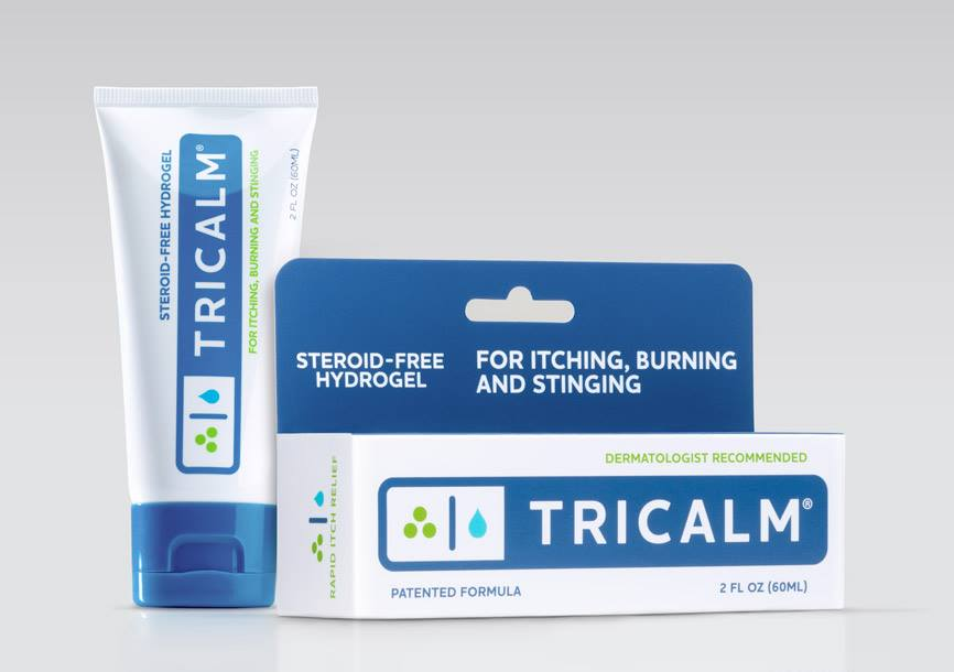 TriCalm box and tube