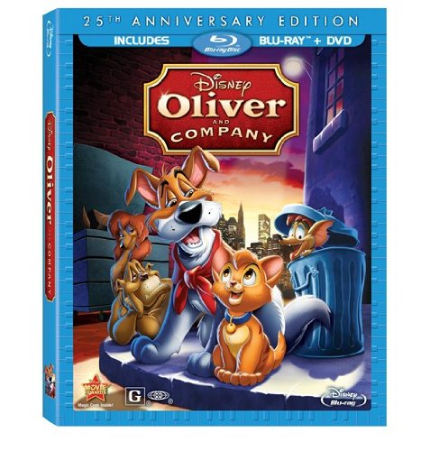 disney oliver & company 25th anniversary edition cover art