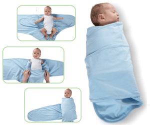 miracle blanket swaddling pic