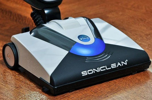 my soniclean vacuum close up