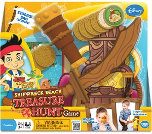Jake and the Never Land Pirates Shipwreck Beach Treasure Hunt Game packaging small