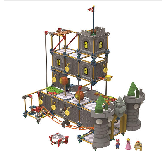 Super Mario Bros 3D Bowser's Castle