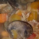 Hearty Butternut Squash, Sweet Potato and Chicken Soup featured image