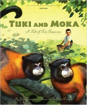Tuki and Moka A Tale of Two Tamarins cover small