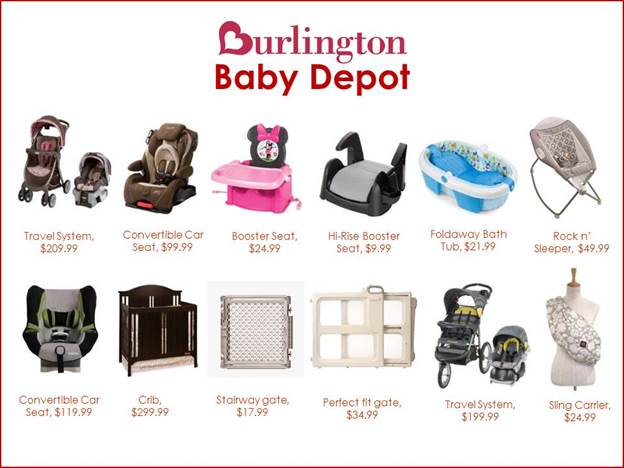 Burlington Has You Covered With Their Baby Depot