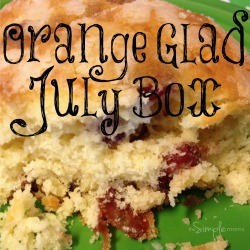 Orange Glad July box
