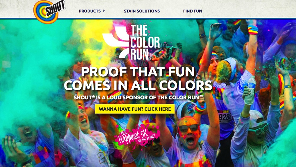 color run and shout