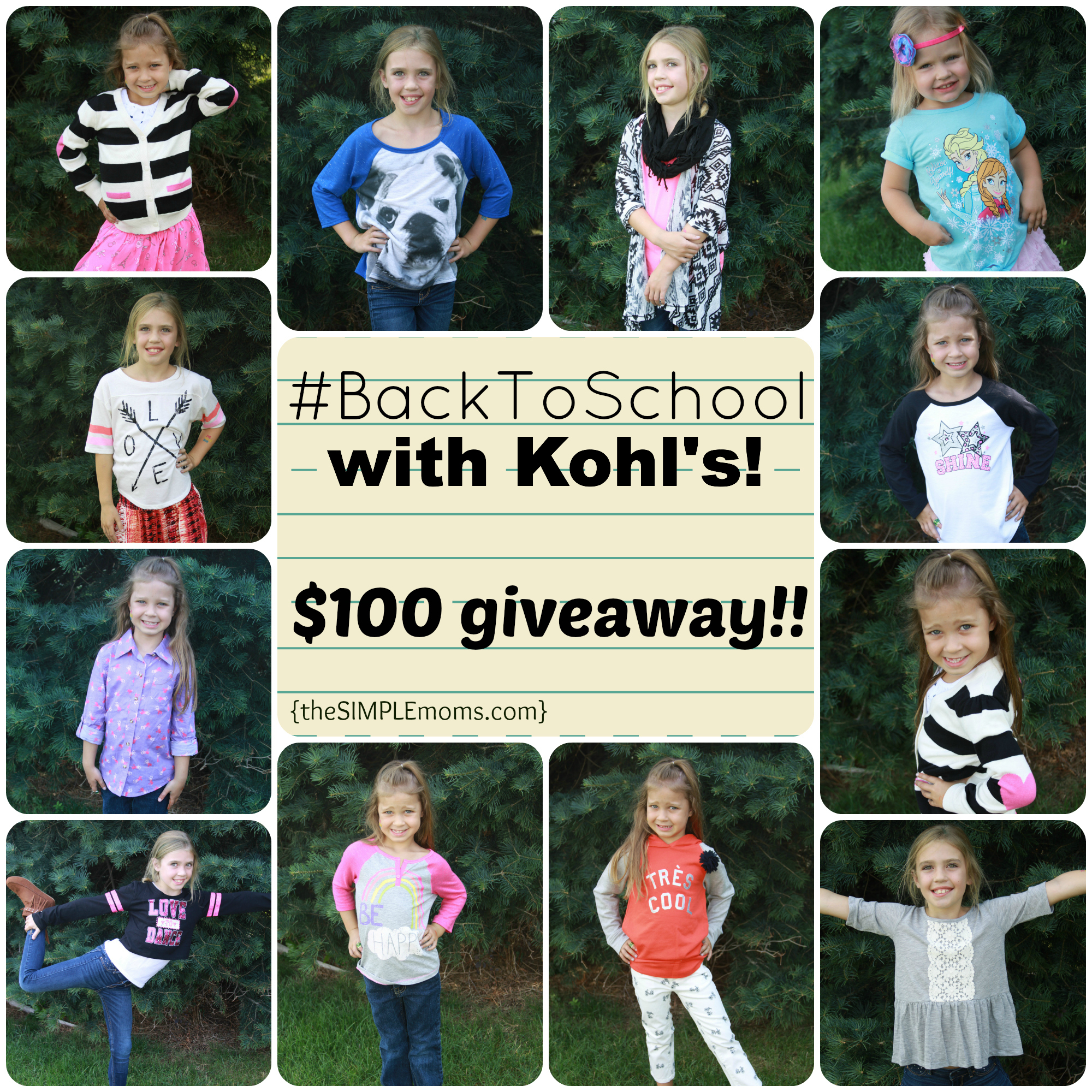 Back to School with Kohls 2014