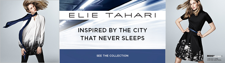 kohls elie tahari collectin header