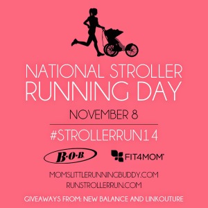 National Stroller Running Day Button