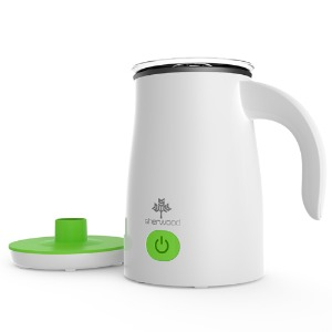 Sherwood milk frother green featured image