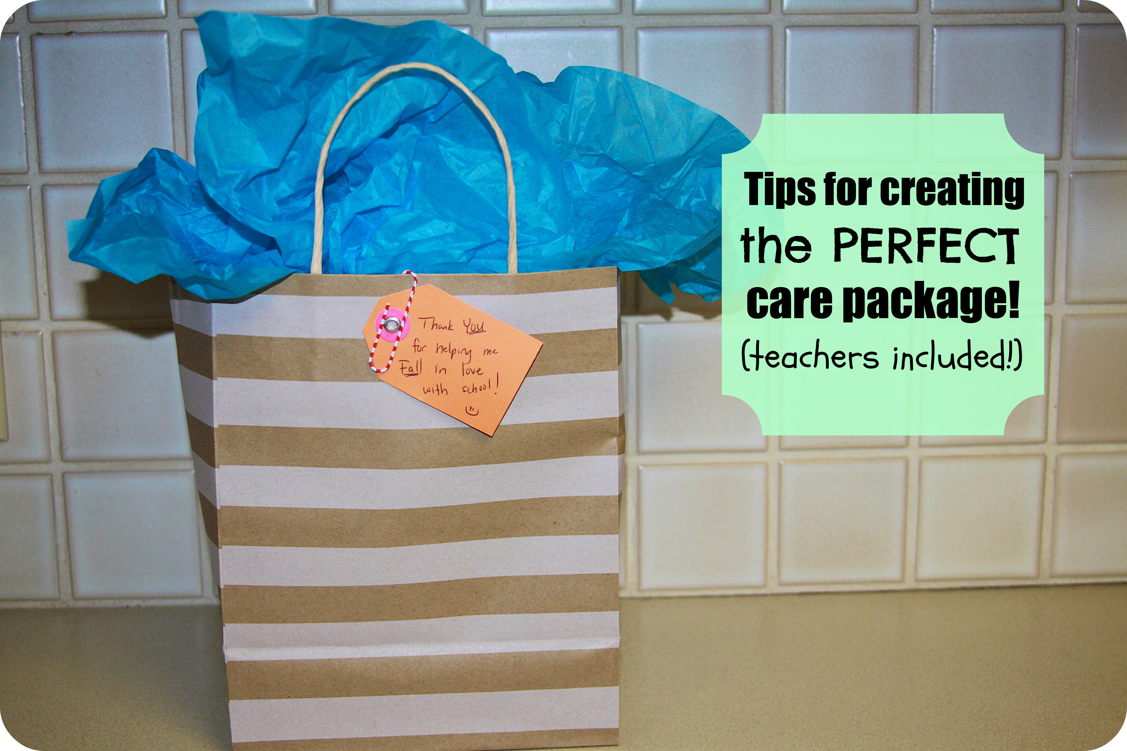 tips for creating the perfect care package